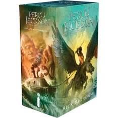 [Submarino] Percy Jackson e os Olimpianos (5 volumes) - R$45