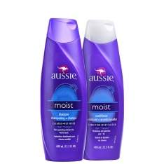 [BELEZANAWEB] Aussie Moist Duo Kit (2 Produtos)