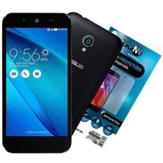 "[EFACIL] Smart Zenfone Live Dual Chip Preto Tela 5"" 3G+WiFi 8MP 16GB TV Digital + Película de Vidro - Asus POR R$670"