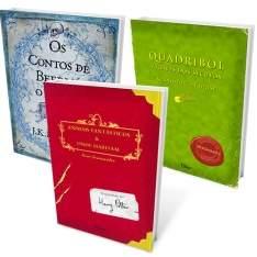 [SubMarino] Kit Livros - A Biblioteca de Hogwarts (3 Volumes) R$ 14