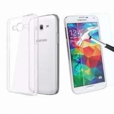 [SubMarino] Kit Proteção Samsung Galaxy J5 Capa Em Tpu E Película De Vidro Temperado por R$ 7
