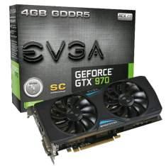 [Balão da Informática] Placa de Vídeo EVGA GeForce GTX 970 Superclocked+ ACX 2.0 (04G-P4-2977-KR) por R$ 1299
