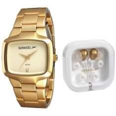 [CLUBEDORICARDO] Kit Relógio Feminino Speedo Rose + Fone de Ouvido Speedo por R$ 100