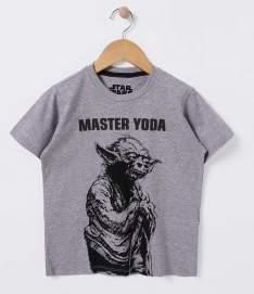 [Renner] Camisetas Infantis Star Wars - Tam 4 a 14 anos R$20