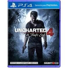 [Balão da Informática] Uncharted 4 - A Thief s End - PS4 por R$ 159