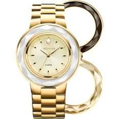 [SHOPTIME] Relógio feminino Technos analógico fashion com Swarovski 2036LMR/4X - R$213