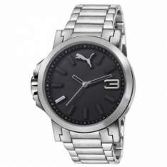 [Ricardo Eletro] Relógio Masculino Analógico Puma Ultrasize, Pulseira de Aço, Caixa de 4,9 cm, Resistente à Água 50 Metros por R$ 280