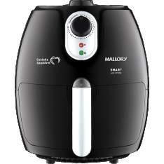 [Americanas] Fritadeira Elétrica Mallory Smart Air Fryer 2,3L com Livro de Receitas - Preta por R$ 211