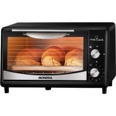 [NOVO MUNDO] Forno Elétrico Mondial Pratic Cook 6 Litros - FR-09 - R$81