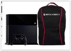[Submarino]Console PS4 500GB + Mochila Mortal Kombat X + 1 Controle Dualshock 4 (Fabricado no Brasil com 1 ano de garantia) - Sony  por R$ 1710