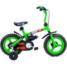 "[Americanas] Bicicleta Verden Rock Aro 12"" Verde / Preta Masculina Infantil - por R$97"