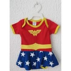 [Walmart] Body Personagens Mulher Maravilha Pirueta Baby R$38