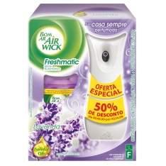 [Extra]Aromatizador Bom Ar Air Wick Freshmatic com Spray Automático Lavanda + Refil - 250ml-R$ 20