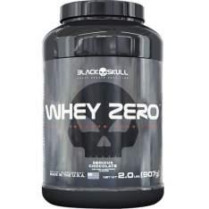 [Extra] Whey Zero  Isolado 900g Black Skull por R$189