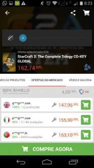 [G2A] StarCraft 2: The Complete Trilogy CD-KEY GLOBAL por R$ 162