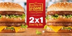 [McDonalds] Leve 2 Grand Big Mac e Pague só 1 - SÓ HOJE ATÉ AS 18H