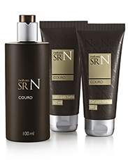 [Natura] Kir SR. N. Couro - Colônia, Gel para Barbear e Pós Barba - R$ 79