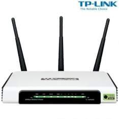 [Ricardo Eletro] Roteador Wireless N - TP-LINK - Velocidade 300Mbps, 4 Portas, WPS, 3 Antenas, 5 Anos de Garantia - TL-WR940N por R$ 90