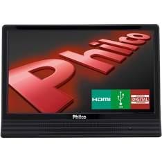 """[Submarino] TV LED 14"""" Philco PH14E10DB HD Conversor Digital HDMI USB 60Hz por R$ 476"""