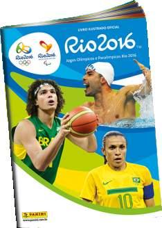 [Panini] Álbum de figurinhas das Olimpíadas Rio 2016 GRÁTIS!