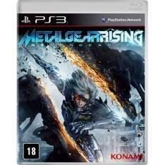 [Shoptime] Metal Gear Rising PS3 R$ 11,80 no boleto