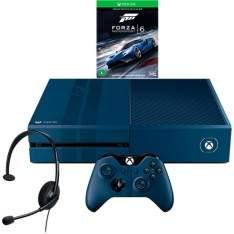 [Americanas] Xbox One 1TB Edição Forza + Jogo Forza 6 + Headset com Fio + Controle Wireless - R$1.584 a vista
