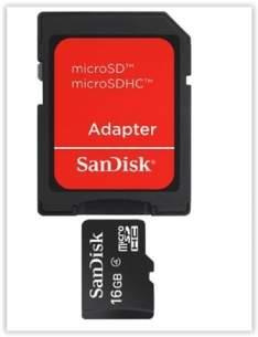 [Submarino] Cartão De Memória 16Gb Micro Sd + Adaptador SD por R$ 10