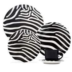 [Casas Bahia] Aparelho de Jantar, Chá e Sobremesa Oxford Daily Zebra Daily JM38 6753 - 20 Peças por R$ 170
