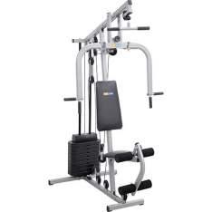 [SHOPTIME] Estação de Musculação Smart 8000 23 Exercícios Cinza e Preto Life Zone por R$ 720
