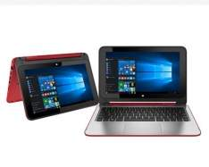 "[HP] Notebook 2 em 1 Touch HP Pavilion x360 11-n226br Processador Intel® Celeron® Dual Core, Windows 10 Home, 4GB, 500GB, HDMI, Bluetooth, LED 11.6"" - R$1599"