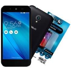 [eFacil] Smartphone Zenfone Live Dual Chip, Preto, 2 GB RAM, 16GB, TV Digital + Película de Vidro - R$ 683