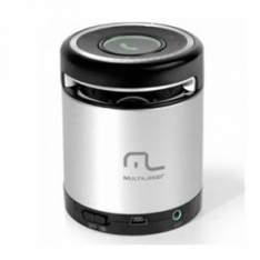 [Ponto Frio] Caixa de Som Multilaser 10W RMS AUX Mini Bluetooth SP155 por R$ 85