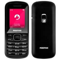 [EFACIL] Celular P20 Dual Chip Preto Câmera, Bluetooth, Rádio FM, MP3 - Positivo