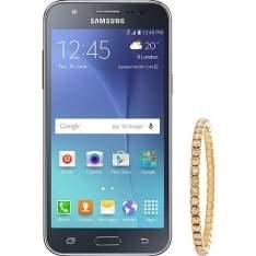 [AMERICANAS] Samsung Galaxy J5 Duos Preto + Pulseira Swarovski - R$818