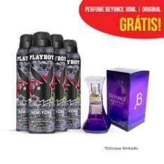[Netfarma] 4 Desodorantes playboy ou adidas + Perfume Beyonce ou adidas por R$55,90