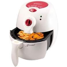 [SOU BARATO] Fritadeira Elétrica Eterny 2,2L Branco e Vermelho 110 volts - R$177