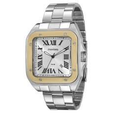 [EXTRA] Relógio Masculino Analógico Mondaine 78624G0MVNA1 - Cromado - R$90
