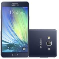 "[Efácil] Smartphone Galaxy A7 Dual Chip Preto Tela 5.5"", 4G+WiFi, Android 4.4, 13MP, 16GB - Samsung por R$ 949"