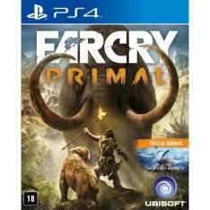 [Ponto Frio] Jogo Far Cry Primal - Limited Edition - PS4 por R$ 120