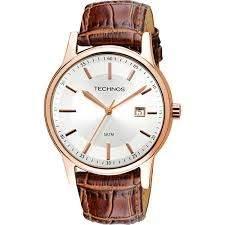 [SUBMARINO] Relógio Masculino Technos 2115RQ/2K Social - R$156