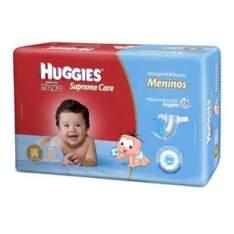 [ EXTRA] - Fraldas Huggies Turma da Mônica Supreme Care Meninos Mega M - 40 Unidades - R$22