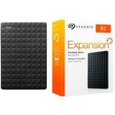 [SouBarato] HD Externo Portátil SEAGATE Expansion 1TB USB 3.0 - R$224