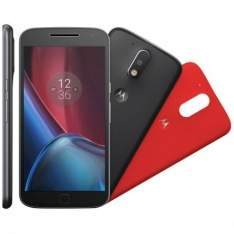 "[Kangoolu] Smartphone Motorola Moto G4 PLUS XT1640 Preto - Dual Chip,Tela 5.5"",Câmera 16MP+Frontal 5MP,Octa Core,32GB por R$ 1244"