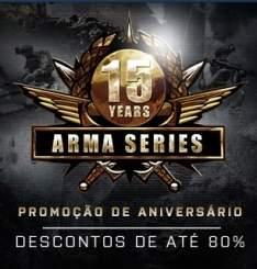 [STEAM] ARMA (Promoção de todos os jogos da franquia) - A partir de R$ 2,39