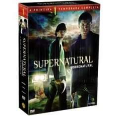 [CASAS BAHIA] DVD - Box Supernatural: Sobrenatural: 1ª Temporada - 6 Discos - R$20