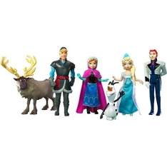 [AMERICANAS] Bonecos Disney Frozen 6 Bonecos Mini Mattel - R$62