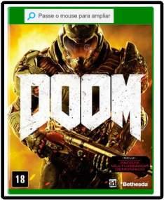 [Submarino] Game Doom - Xbox One No CC Submarino por R$ 127
