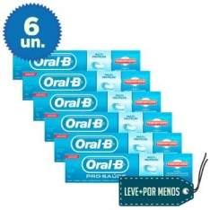 [Clube do Ricardo] 6 Cremes Dentais Oral-B Pró-Saúde com Escudo Anti-Açúcar - R$10