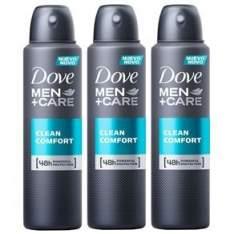 [Ponto Frio] Desodorante Antitranspirante Aerosol Dove Men+ Care Clean Comfort - 89g Compre 2 e Leve 3 - R$ 28,77