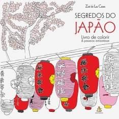 [Americanas] Livro para Colorir: Segredos do Japão - R$5,94